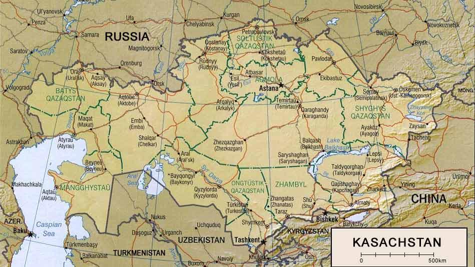 kazakhstan_karte